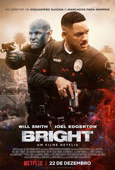Novo Poster de Bright. Só na Netflix.