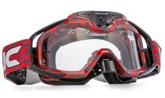 Liquid Image Torque Red Offroad MX Goggles Internal HD 1080p Video Camera  Dirtbikes, Atvs, cb547f29c084