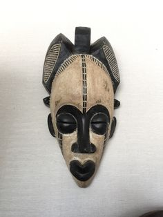 African mask by GalerieHam on Etsy https://www.etsy.com/listing/231120142/african-mask