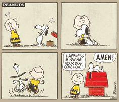 Charlie Brown & Snoppy