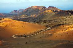 Het vulkanische landschap van Lanzarote  #vulkaan #lanzarote