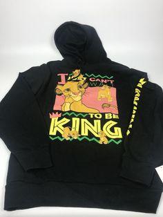 Disney Lion King Can t Wait to Be King Men s Sweatshirt Hoodie 2XL for Sale  in Waukegan b34c6009c7555