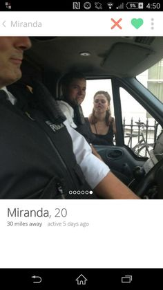 Miranda, with an even better profile picture.
