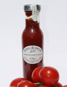 "KETCHUP: It's a myth that ""ketchup"" is always made out of tomatoes. The first ones were made with mushrooms and anchovies, and many speciality ones being made now don't use tomatoes, either. Learn more about ketchup! http://www.cooksinfo.com/ketchup"