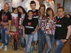 Eva Garcia junto con parte del equipo de Desigual
