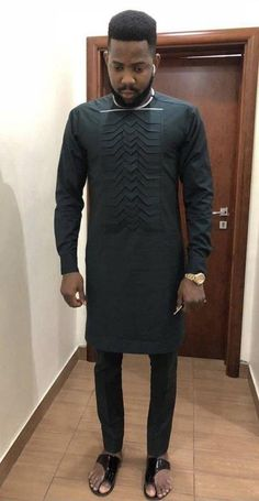 Senator outfits for the real men - DarlingNaija African Male Suits, African Wear Styles For Men, African Shirts For Men, African Dresses For Kids, African Attire For Men, African Clothing For Men, African Fashion Dresses, Ankara Fashion, African Style