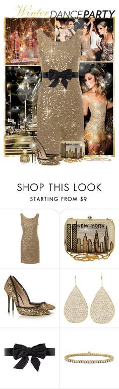 """Winter Dance Party"" by kelley74 ❤ liked on Polyvore featuring Avenue, ASAP, True Decadence, Lucy Choi London, Irene Neuwirth, H&M, Blue Nile and winterdanceparty"