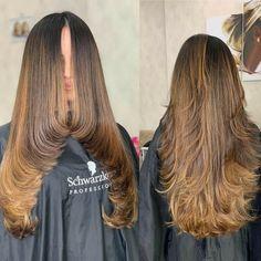 Haircuts For Long Hair With Layers, Haircuts Straight Hair, Long Layered Haircuts, Long Hair Cuts, Thin Hair, Medium Hair Styles, Short Hair Styles, Hair Cutting Techniques, Brown Hair Balayage