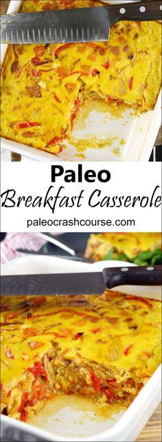 Incredibly Tasty Paleo Breakfast Casserole