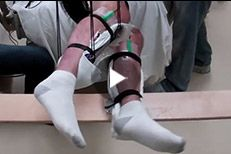 A noninvasive treatment helped 5 men with complete muscle paralysis in the lower body voluntarily move their legs in a step-like pattern. Spinal Cord Injury, Surgery, Character Shoes, Muscle, Legs, Pattern, Patterns, Muscles, Model