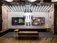 Art Direction   Environment Design - Flatiron Nike Running Store update Creative Director: Julie Igarashi Designers: Derrick Lee   Esther Chang