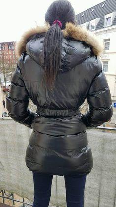 Jolina down jacket – back flic.kr/p/REbxzq Winter Coats Women, Winter Jackets, Down Suit, Puffy Jacket, Outerwear Women, Jacket Style, Jackets For Women, Puffer Coats, Women's Fashion