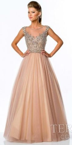 Terani Couture Two Tone Tulle Prom Gown on shopstyle.com