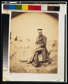 Lieutenant General John L. Pennefather,C.B.,1855,Crimean War,Roger Fenton