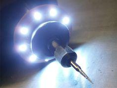 Make your own LED ring for dremel