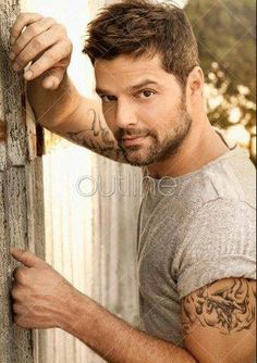 Ricky Martin on my list of Men I would Fantasize about sleeping with..