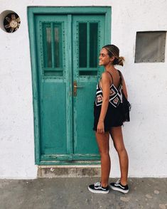 happiest 🐥 ever exploring greece. Summer Outfits, Casual Outfits, Cute Outfits, Look Fashion, Womens Fashion, Foto Casual, Surfer Girl Style, Look Boho, Mein Style