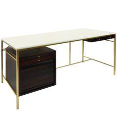 Brass Desk Model C8815 by Paul McCobb, Irwin Collection, circa 1958 1