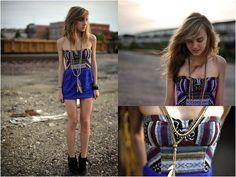 La mini robe bustier