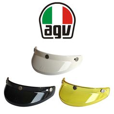 "AGV ""Legends Peak"" in various colours. Retro cross peak for AGV at Shoei Helmets, Motorcycle Helmets, Retro Helmet, Legends, Colours, Model, Accessories, Design, Helmets"