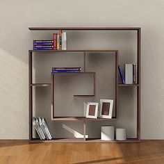 Labyrinth Bookshelf by Decortie, available in two finishes, $539 !!Check out what's on sale at TouchOfModern