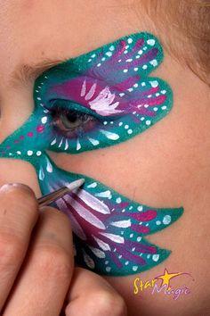 Vlinder schminken   Stap-voor-stap vlinder schminken