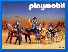 PLAYMOBIL set #3729 - US Artillerie.