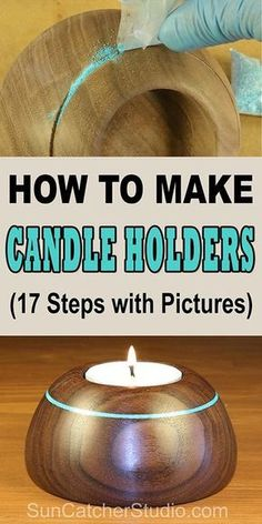 to Make Candle Holders (WoodTurning Project) How to make Candle Holders (Woodturning Project) for the wood lathe.How to make Candle Holders (Woodturning Project) for the wood lathe. Wood Turning Lathe, Wood Turning Projects, Wood Lathe, Diy Wood Projects, Router Wood, Turning Tools, Cnc Router, Learn Woodworking, Easy Woodworking Projects