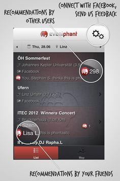 Social Layer for your Events Johannes Kepler, Connection, Events, Concert, Linz, Scene, Concerts