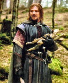 Sean Bean as Boromir. None of you should wander alone. Least of all you. So much depends on you, Frodo.