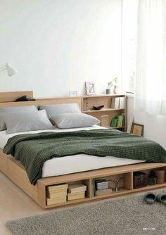 Erweiterungsgestell Für Bett Mit Stauraum Eiche Doppel MUJI Online Store