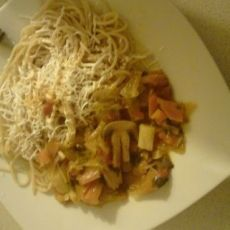 Vegetarian pasta Spaghetti, Vegetarian, Pasta, Ethnic Recipes, Food, Essen, Meals, Yemek, Noodle