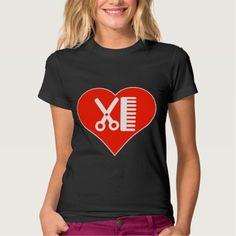 I Love Hairdresser T Shirt, Hoodie Sweatshirt