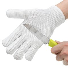 Workplace Safety Supplies New 1 Pcs Cut Resistant Stainless Steel Gloves Working Safety Gloves Metal Mesh Anti Cutting For Butcher Worker Price Remains Stable
