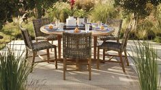 Isola 7-pc. Rectangular Dining Set
