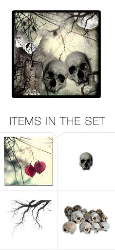"""""""Halloween Nights"""" by gailwind ❤ liked on Polyvore featuring art"""