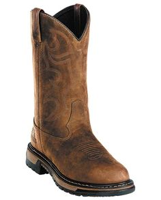 Rocky Men's Brown Foot & shaft - Work Boots & Safety Shoes - Workwear