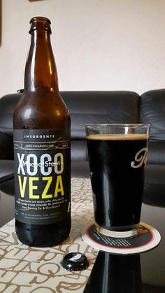 Xocoveza. Mocha stout de la cerveceria bajacaliforniana Insurgente.