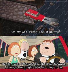 Hahaha I love Family Guy