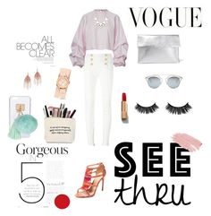 """yuhu"" by itstyrell on Polyvore featuring Balmain, Alexandre Birman, Marni, Serefina, Full Tilt, Michele, Christian Dior, Ashlyn'd, Jane Iredale and Chanel"