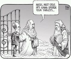 Bible Humor... RIP Steve Jobs!