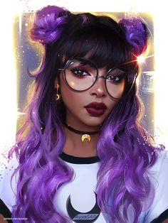 Le plus à jour Instantanés pubg dibujos Réflexions Art Anime Fille, Anime Art Girl, Black Girl Art, Black Women Art, Black Art, Cartoon Kunst, Cartoon Art, Bel Art, Dibujos Tumblr A Color