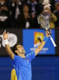 01.02.2015  Novak Djokovic won a fifth Australian Open crown on Sunday with a 7-6(5), 6-7(4), 6-3, 6-0 victory over Andy Murray, who the World No. 1 also beat in the 2011 and 2013 finals. It was his 50th hard-court victory at Melbourne Park.
