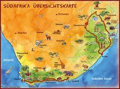 Südafrika Augrabies Falls, South Africa Tours, Elephant Park, Port Elizabeth, Africa Travel, Outdoor Travel, Cape Town, Places To Go, Maps