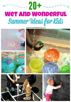Thinking of playing with water this summer? Check out this list!