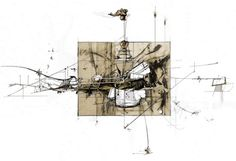 DAN SLAVINSKY - A Series of Drawings from the End of Time: BARTLETT, LONDON 2010