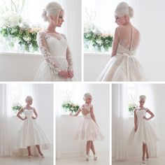 The Fabulous 1950s-Inspired 2016 Bridal Collection from House of Mooshki