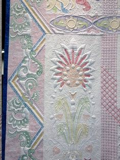 AQS Best of Show winners Renae Haddadin & Karen Kay Buckley for their glorious quilt FIESTA MEXICO