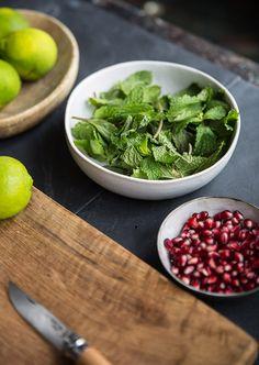 How to make a pomegranate mojito{video}