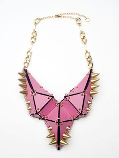 Studded Stegosaurus Necklace | NOT JUST A LABEL